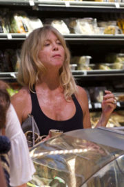 Goldie Hawn Stills Shopping at Whole Foods in Los Angeles