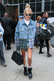 Hailey Baldwin Out and About in New York