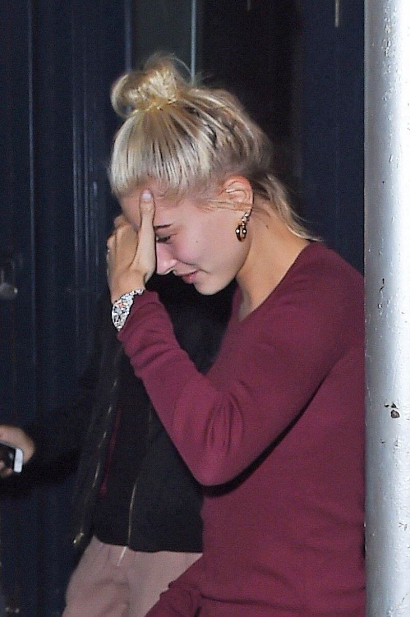 Hailey Baldwin Out for Dinner at Carbone in New York