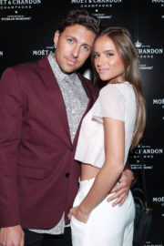 HELEN OWEN at Moet & Chandon by Public School Launch Celebration at New York Fashion Week