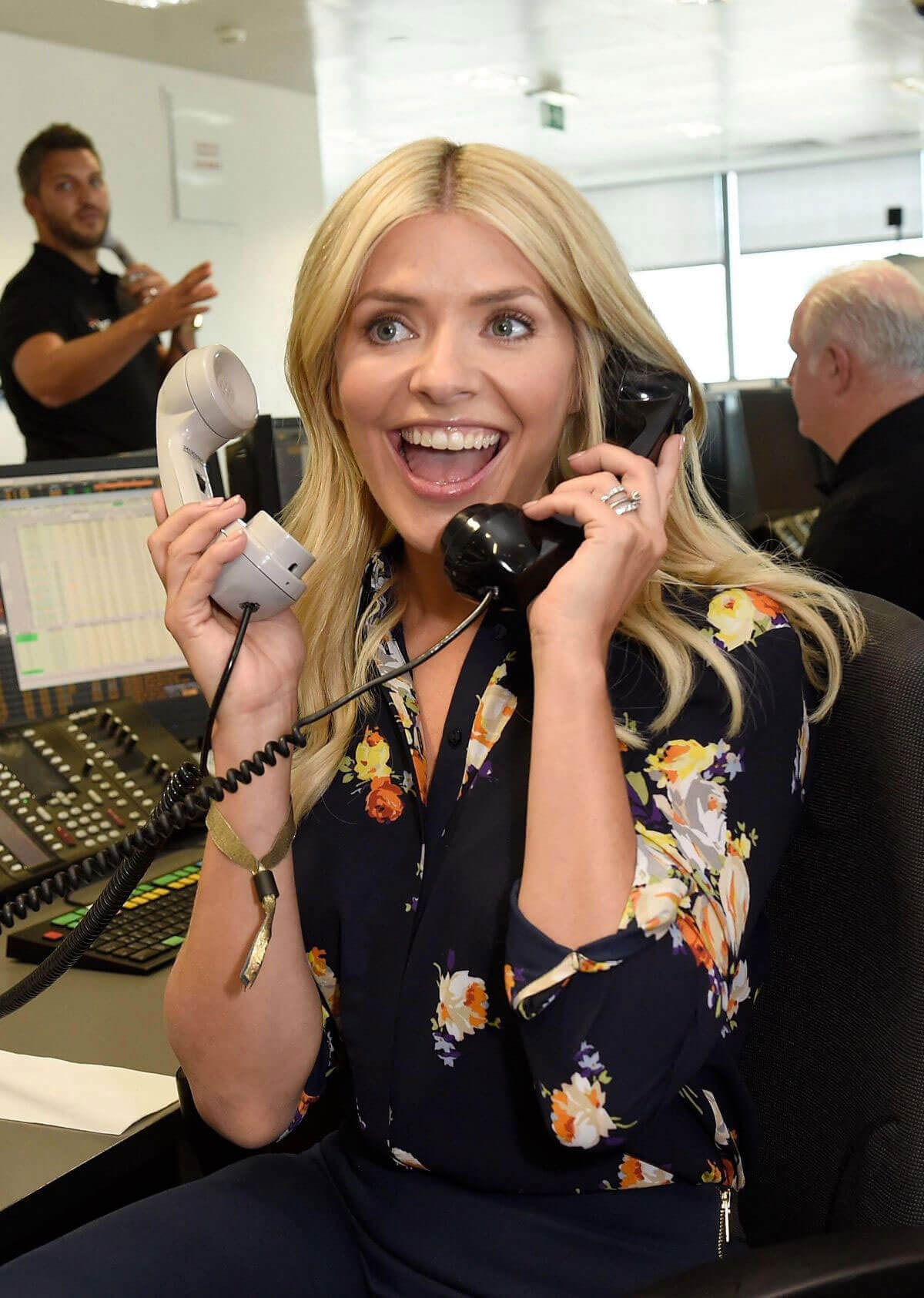 Holly Willoughby at BGC Charity Day in London