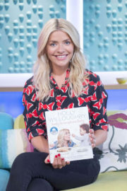 Holly Willoughby Stills at Sunday Brunch Show in London