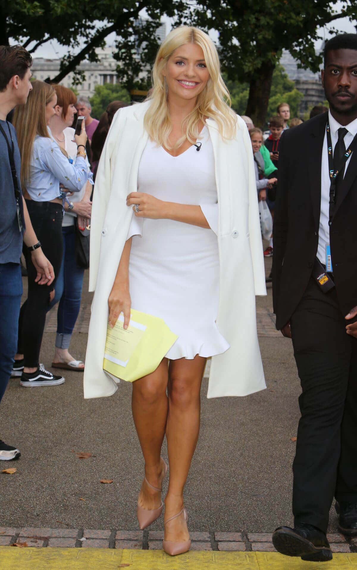 Holly Willoughby Stills at This Morning Show in London