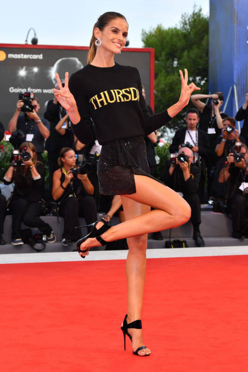 """Izabel Goulart Stills at """"The Shape of Water"""" Premiere at 74th Venice Film Festival"""