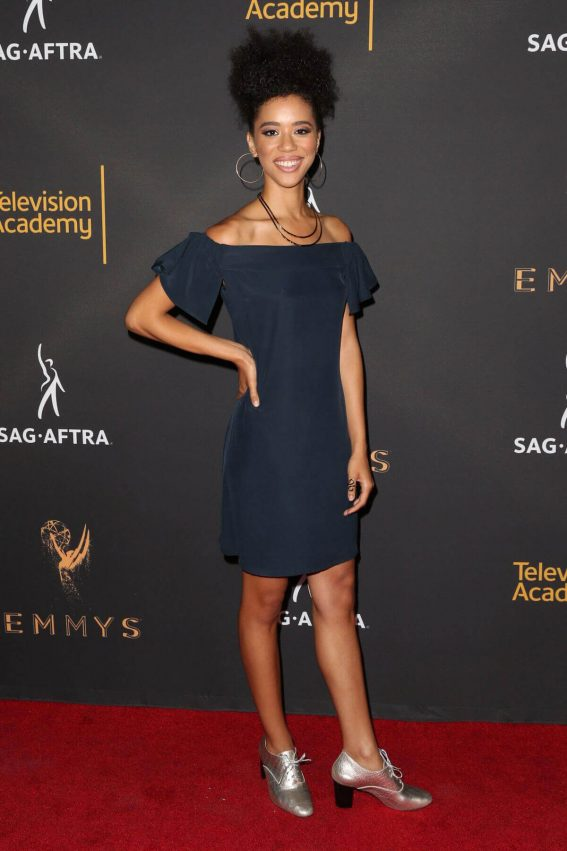 Jasmin Savoy Brown at Dynamic & Diverse Emmy Reception in Los Angeles