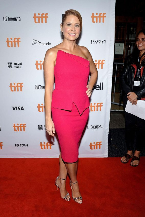 Jenna Fischer at Brad's Status Premiere at Toronto International Film Festival