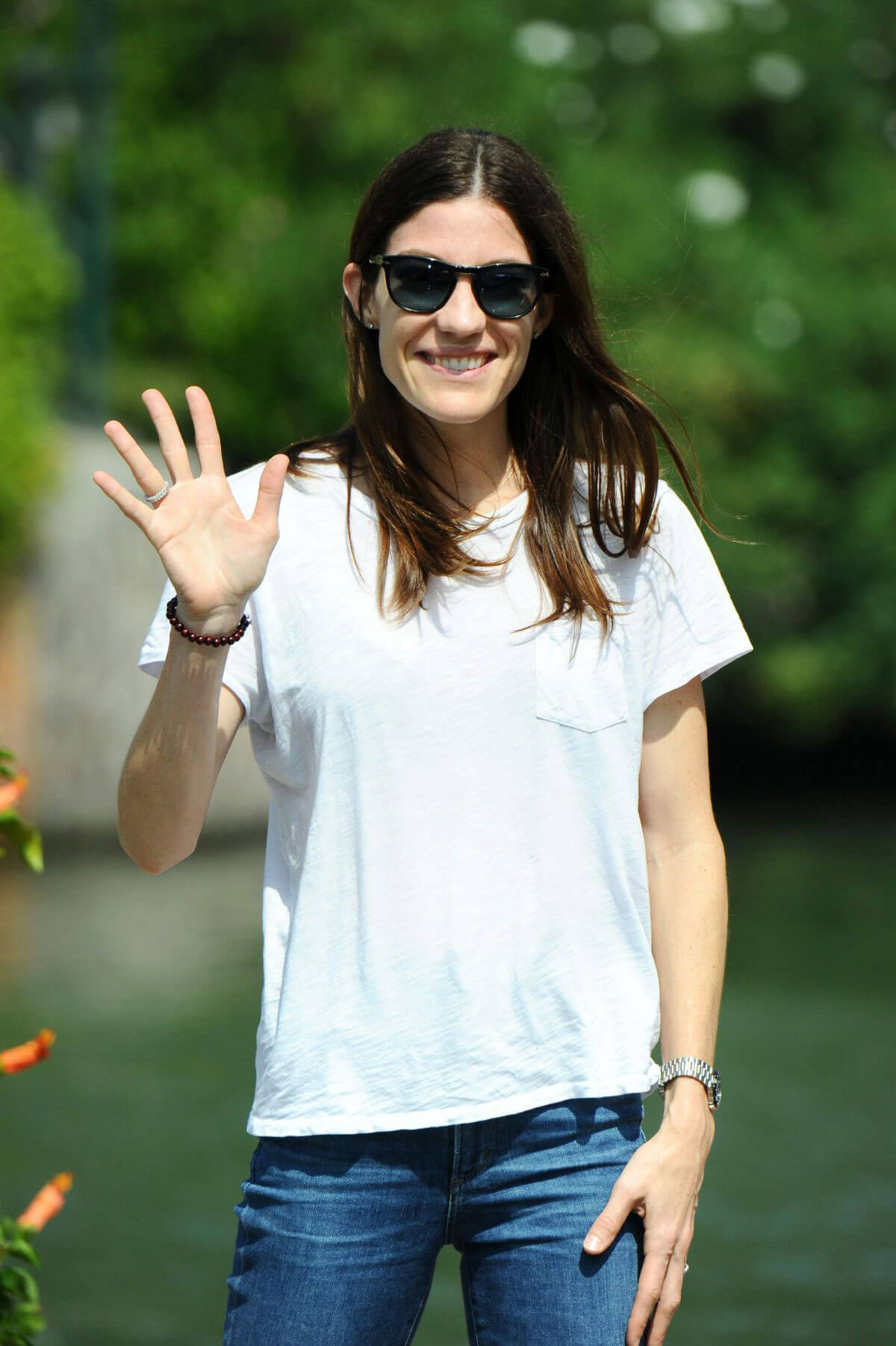 Jennifer Carpenter Stills Arrives at Lido at 74th Venice Film Festival