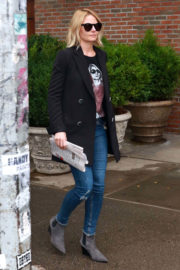 Jennifer Morrison Stills Out and About in New York