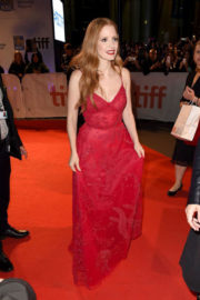 Jessica Chastain at 'Woman Walks Ahead' Premiere at 2017 TIFF in Toronto