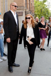 Jessica Chastain Out and About in Toronto