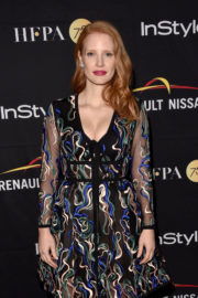Jessica Chastain Stills at HFPA & Instyle Annual Celebration of 2017 TIFF