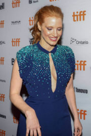 Jessica Chastain Stills at Molly's Game Premiere at 2017 TIFF in Toronto