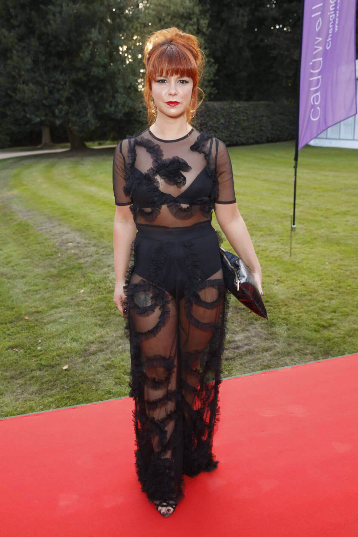 Jessica Fox Stills at Creme De La Creme Ball in Cheshire