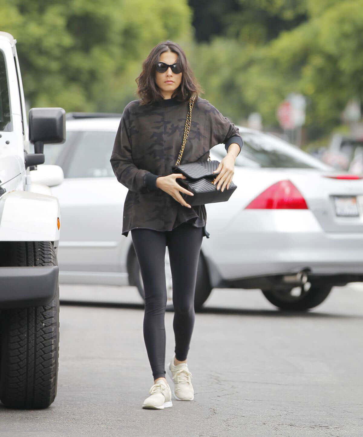 Jessica Gomes Stills Out and About in Beverly Hills