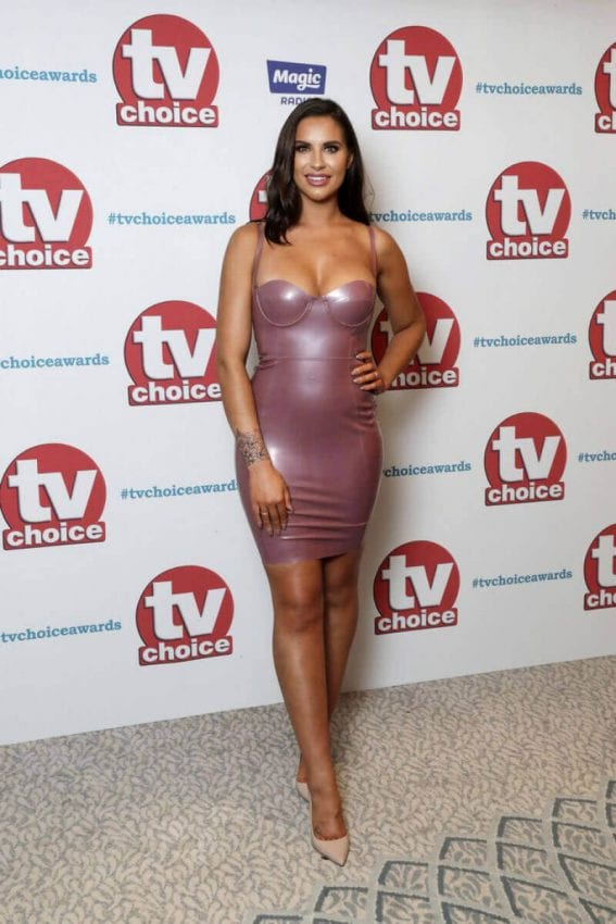 Jessica Rose Stills at TV Choice Awards 2017 in London