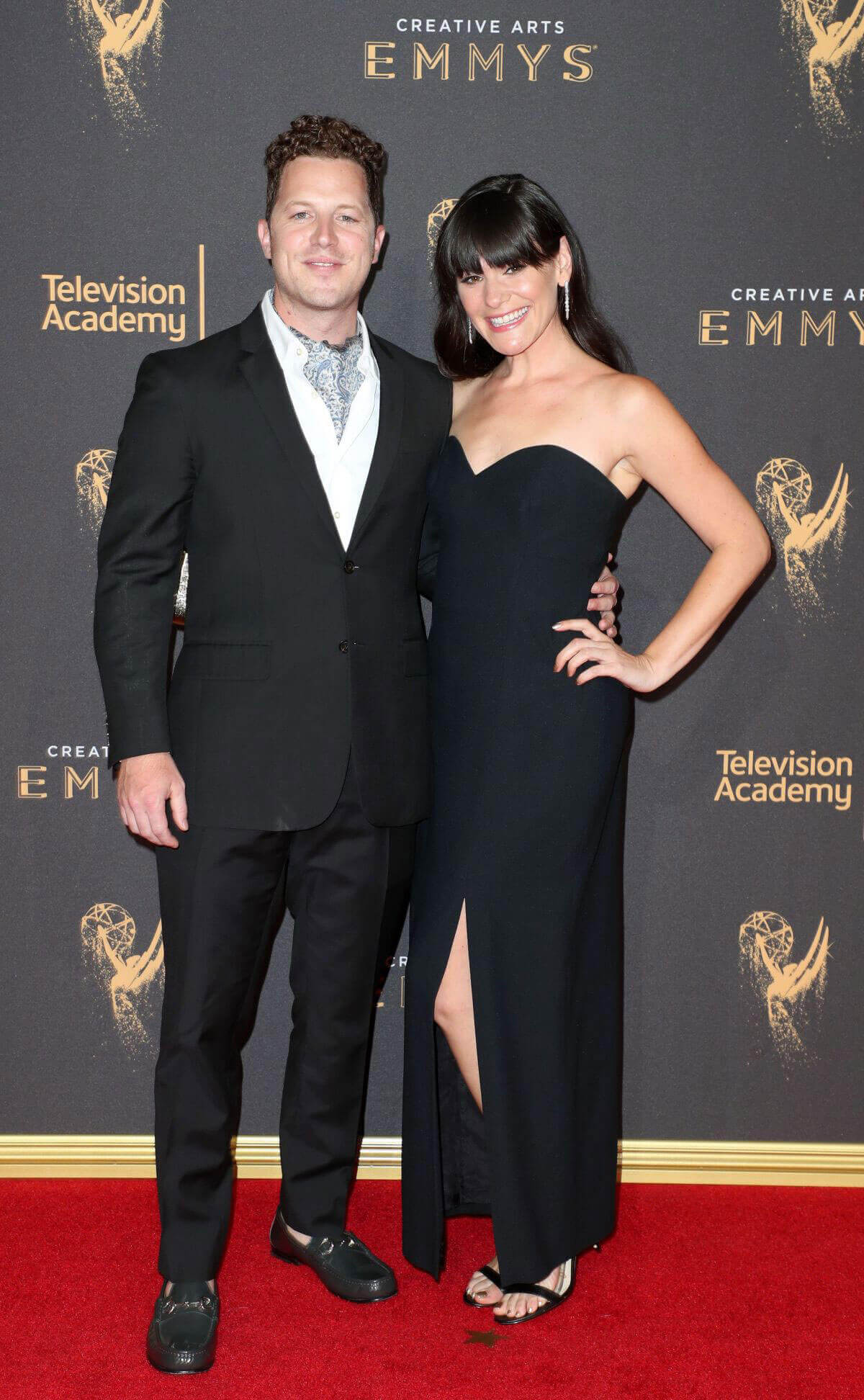 Jillian Leigh at Creative Arts Emmy Awards in Los Angeles