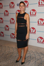 Julia Bradbury Stills at TV Choice Awards 2017 in London