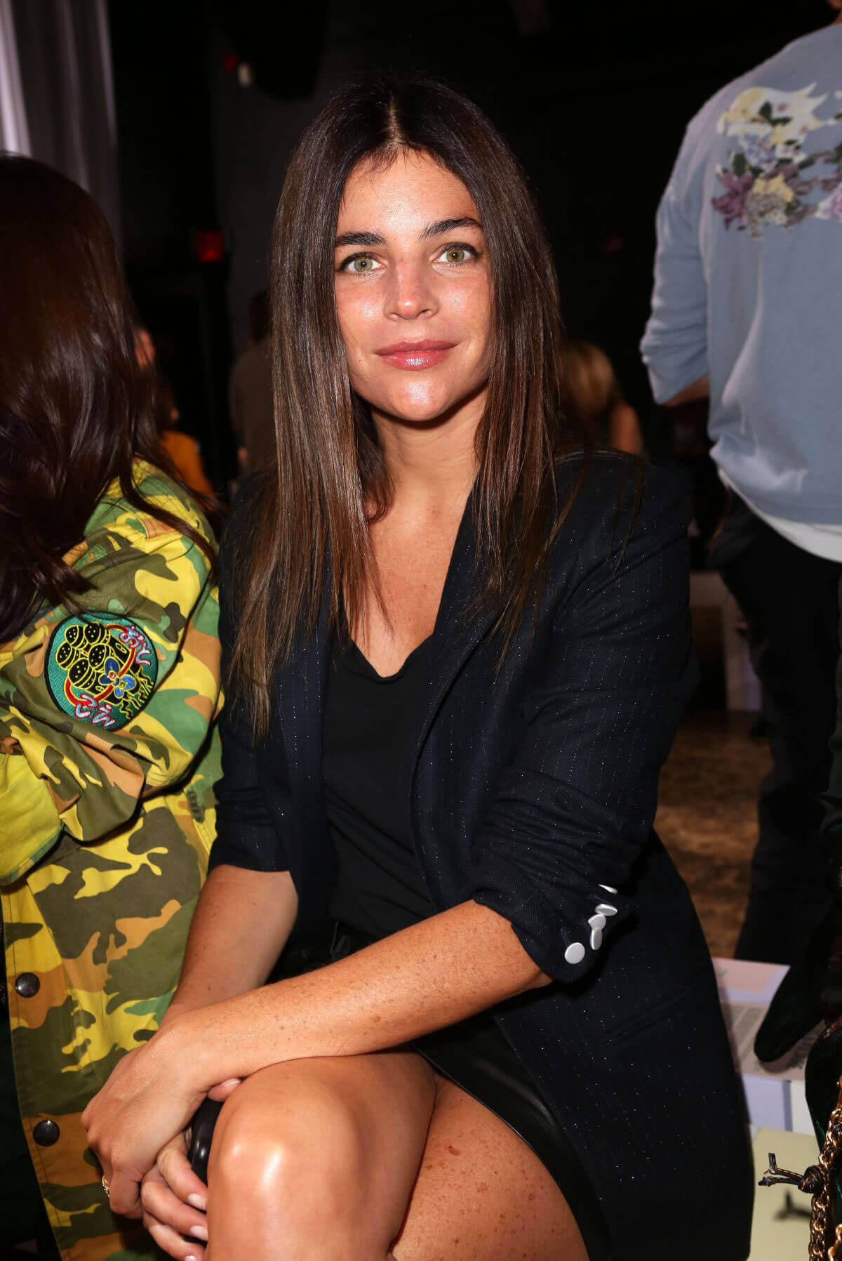 Julia Restoin Roitfeld Stills at Zadig & Voltaire Fashion Show at NYFW