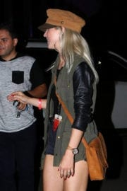 Julianne Hough Stills Leaves The One Republic Concert in Inglewood