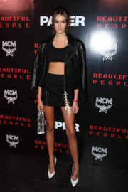 Kaia Gerber Stills at Paper Magazine Beautiful People Release Party in New York
