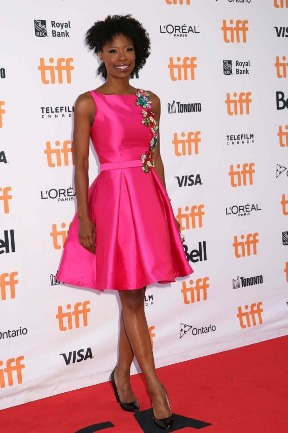 Karimah Westbrook at Suburbicon Premiere at Toronto International Film Festival