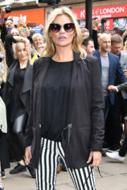 Kate Moss Stills at Reserved Shop Opening in London
