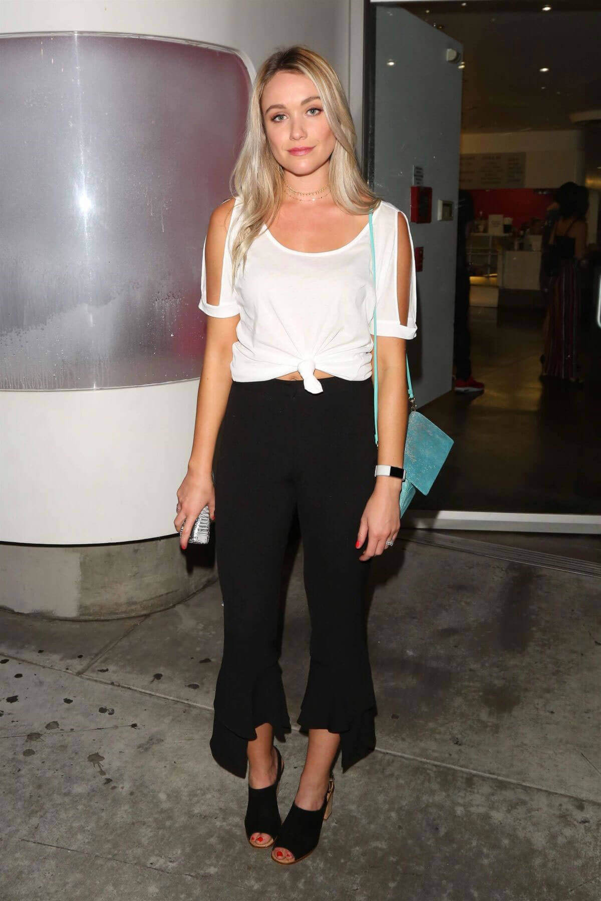 Katrina Bowden Stills at Downtown Independent Theater in Los Angeles