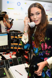 Keira Knightley at BGC Charity Day in London