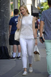 Kelly Rutherford Stills Out Shopping in New York
