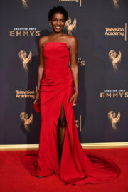 Kelsey Scott at Creative Arts Emmy Awards in Los Angeles