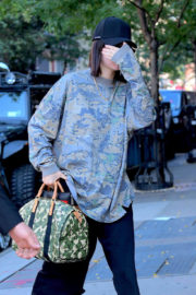 Kendall Jenner Stills and Scott Disick Out for Lunch in New York