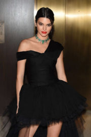 Kendall Jenner Stills at Daily Front Row's Fashion Media Awards in New York
