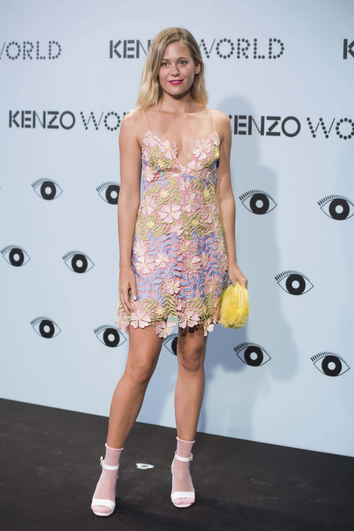 Kimberley Tell Stills at Kenzo's Summer Party in Madrid