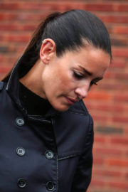Kirsty Gallacher Stills Arrives at Slough Magistrates Court