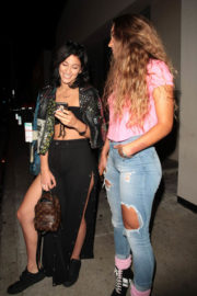 Lexy Panterra and Sommer Ray Stills at Catch LA in West Hollywood