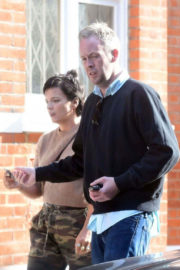 Lily Allen and Sam Cooper Stills Out in London