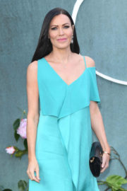 Linzi Stoppard Stils at 'Mother!' Movie Premiere in London