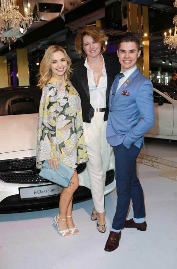 Lucy Lawless Stills at New Zealand Fashion Week