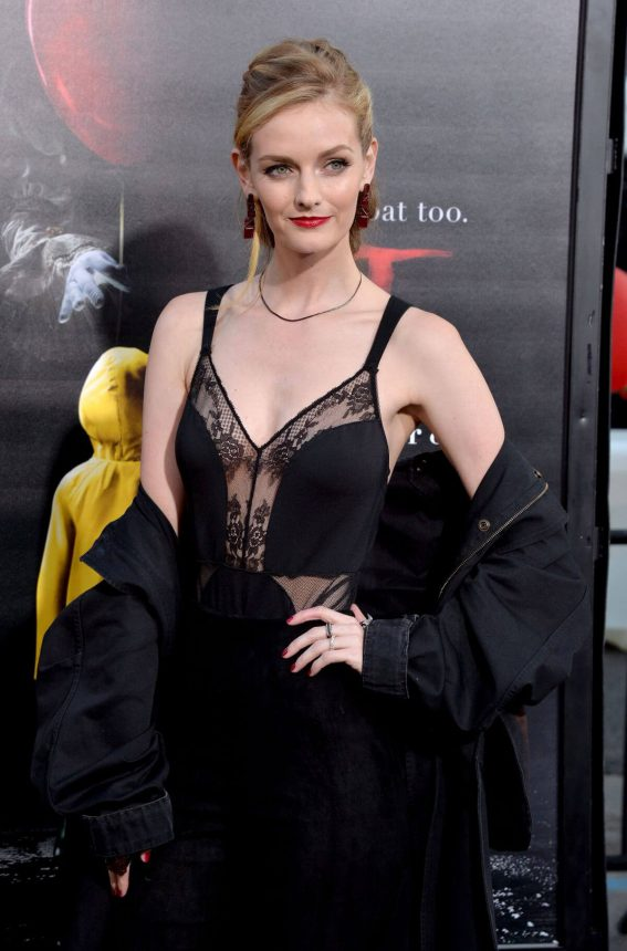 "Lydia Hearst Stills at ""IT"" Movie Premiere in Los Angeles"