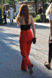 Madelaine Petsch Stills Shopping at The Grove in Hollywood