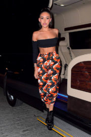 Madison Beer Looking Beautiful Stills at Catch NYC's 6th Anniversary Party