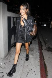 Madison Beer show off legs in dress leaves poppy in West Hollywood