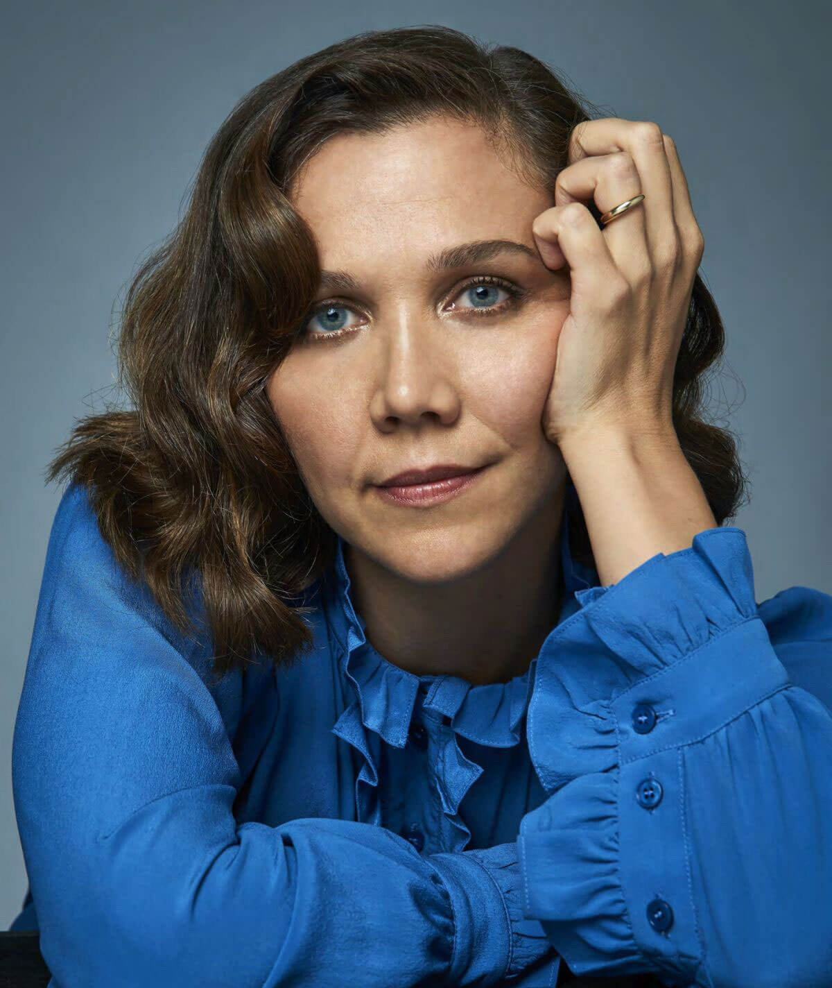 Maggie Gyllenhaal Poses for Backstage Magazine, September 2017