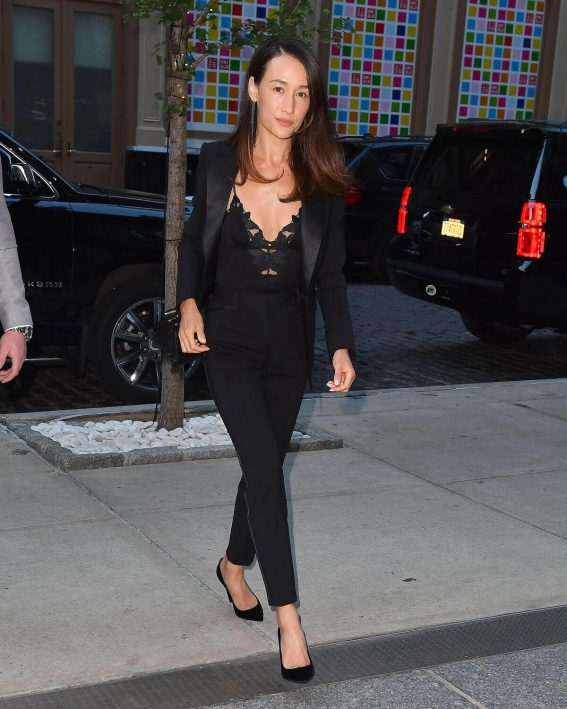 Maggie Q Stills Out and About in New York