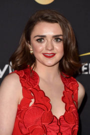 Maisie Williams Stills at HFPA & Instyle Annual Celebration of 2017 TIFF