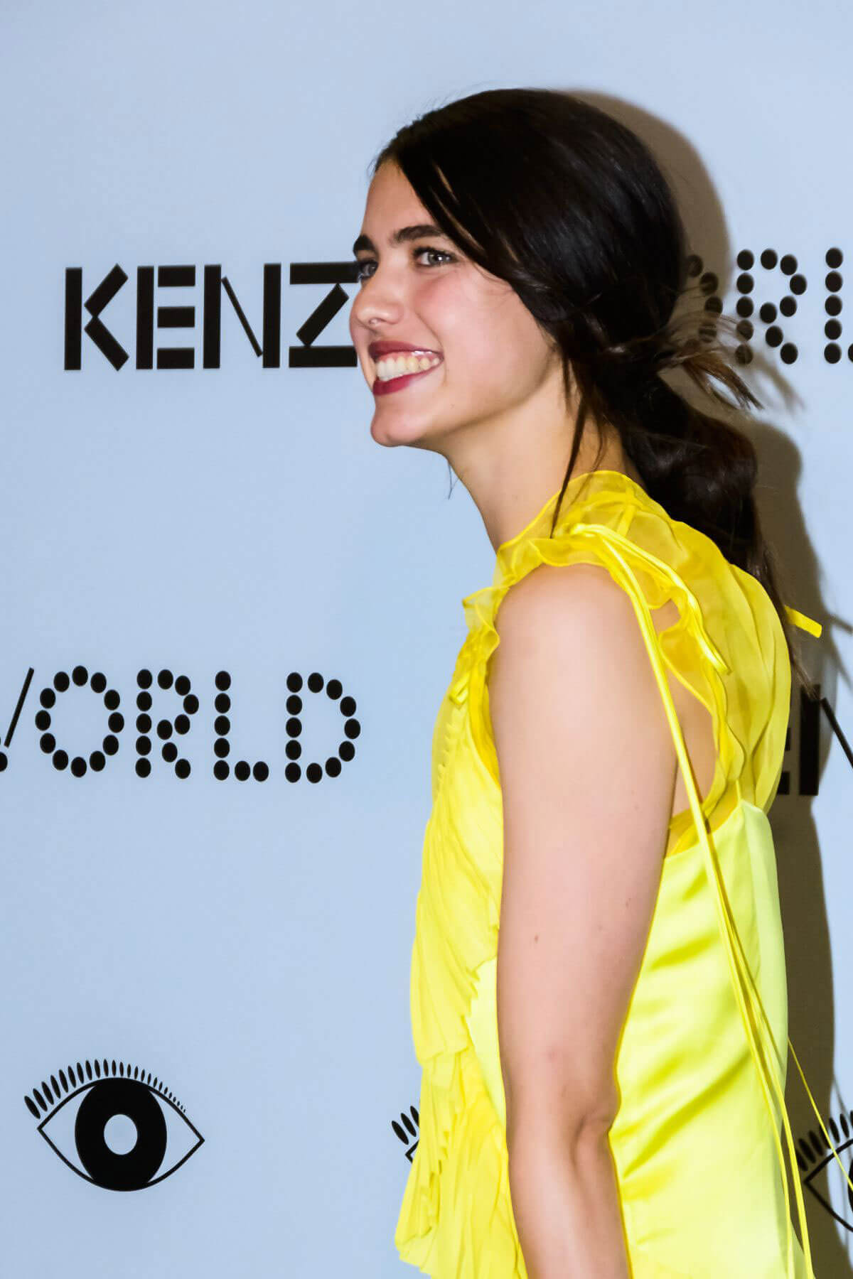 margaret qualley kenzo ad