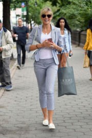 Marla Maples Stills Walks Out at Central Park in New York