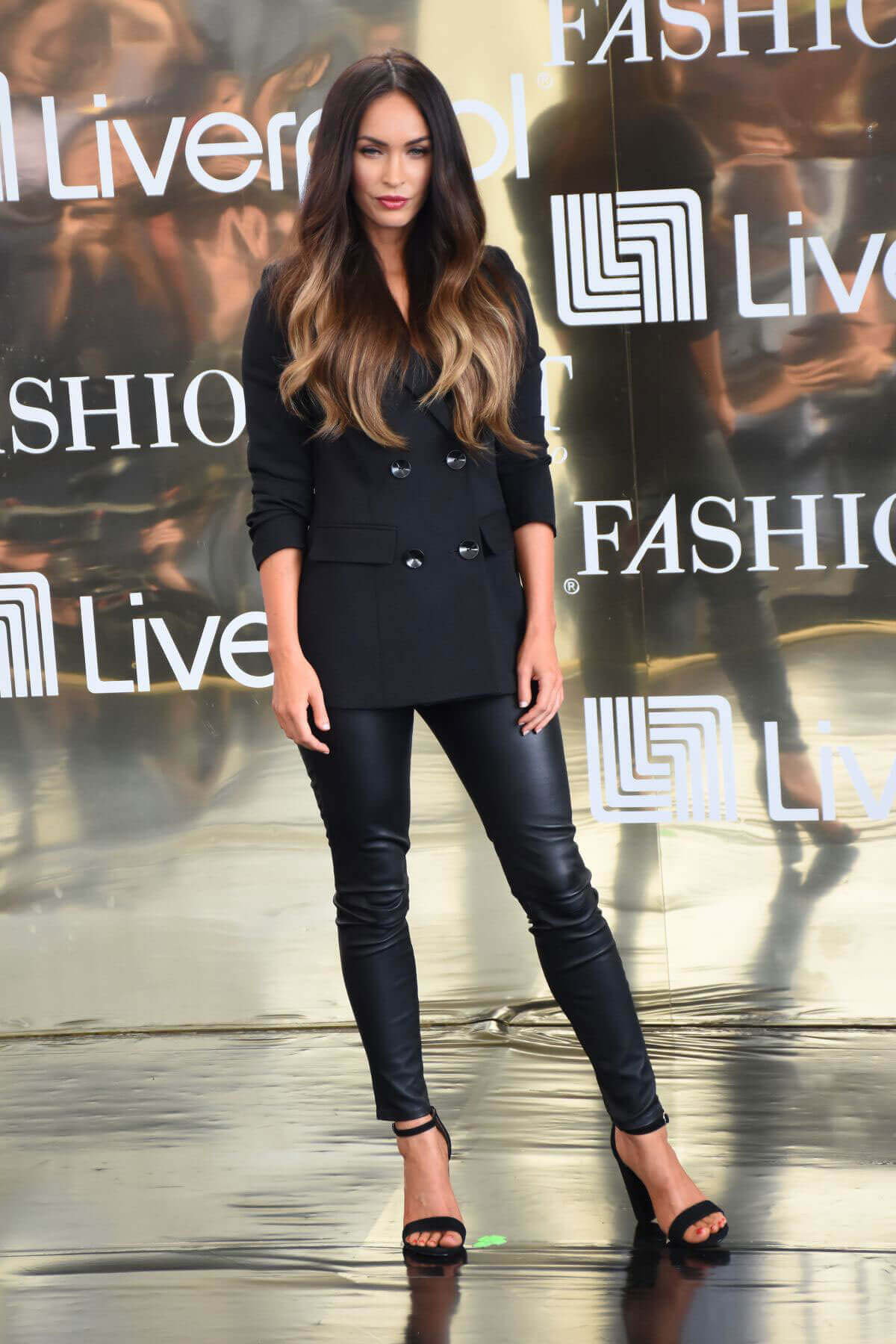 Megan Fox flaunts curves fittings at Liverpool Fashion Fest in Mexico City