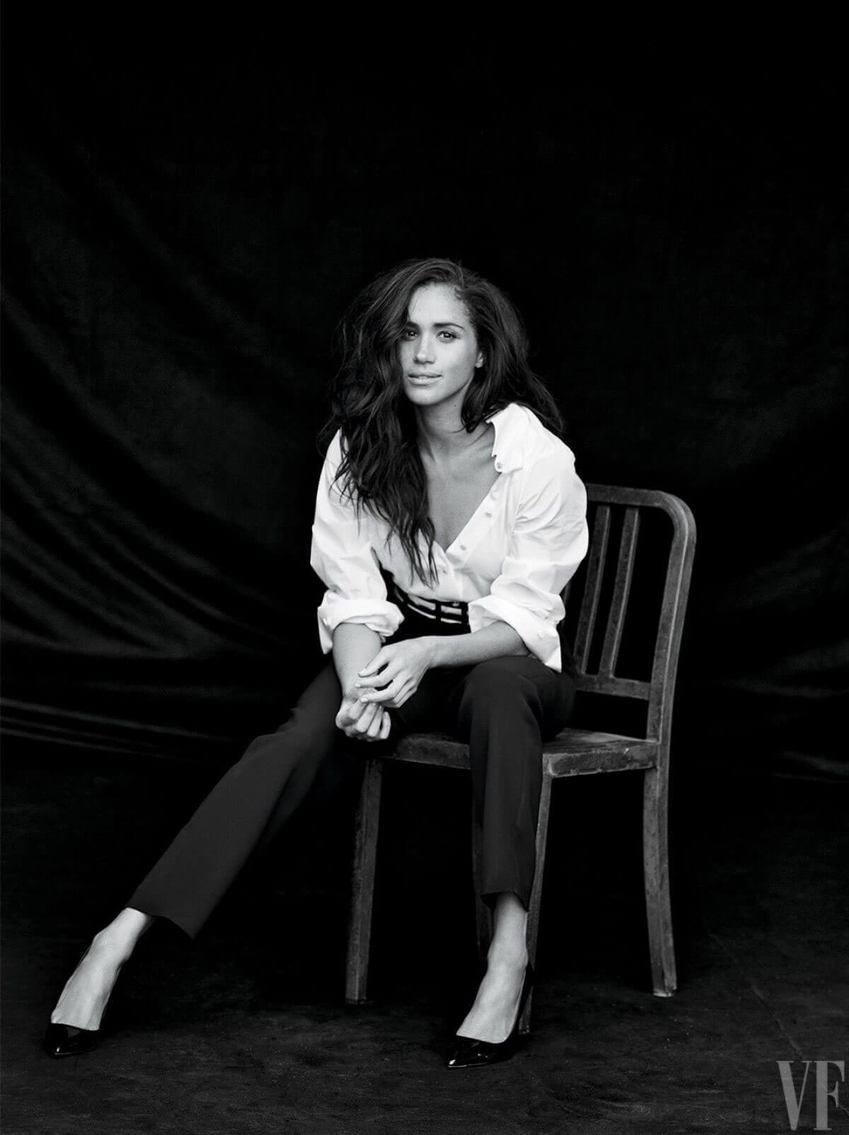 Meghan Markle Photos For Vanity Fair Magazine October