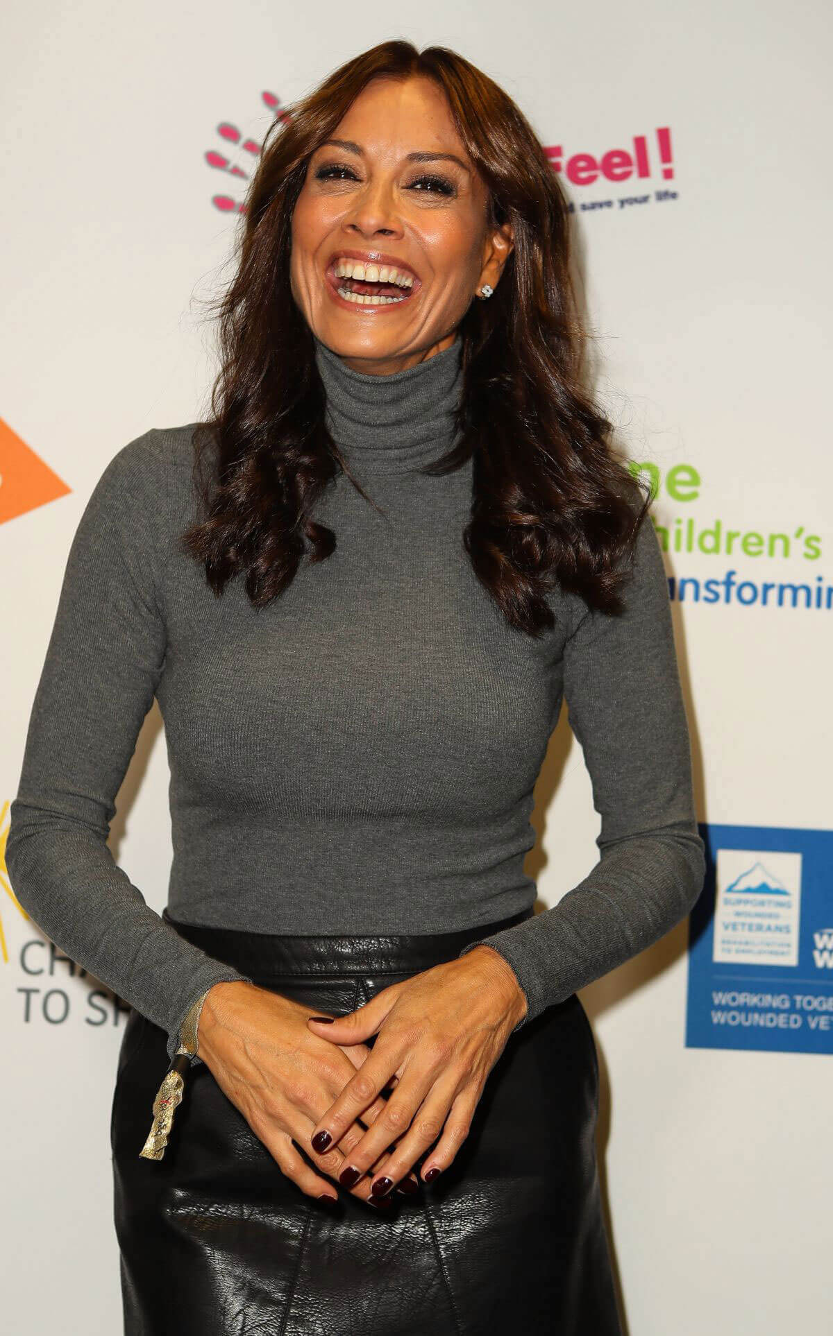 Melanie Sykes at BGC Charity Day in London